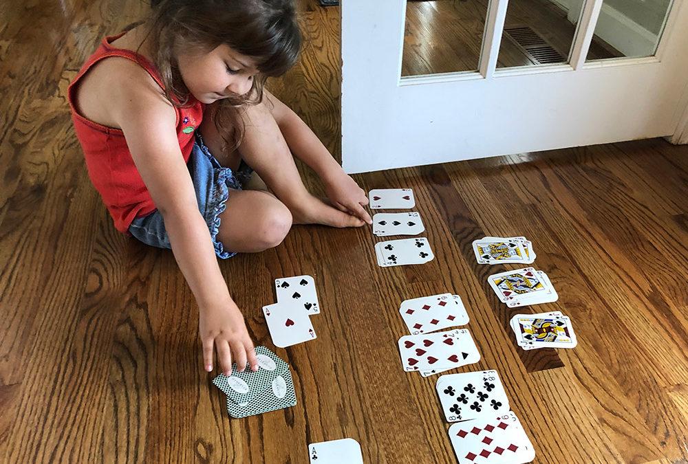 Toddler Card Games